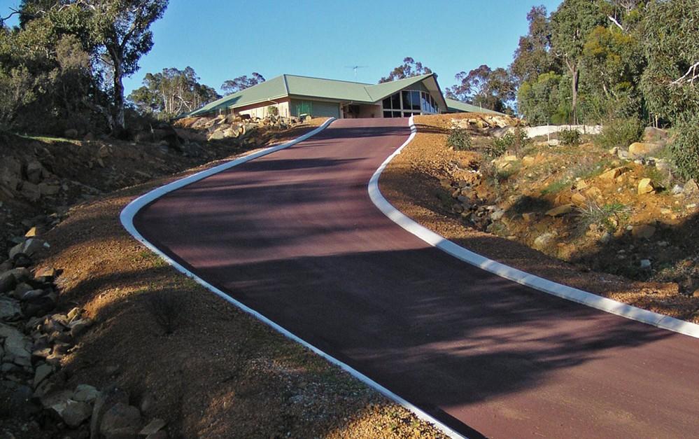 Nk asphalt bitumen driveway resurfacing