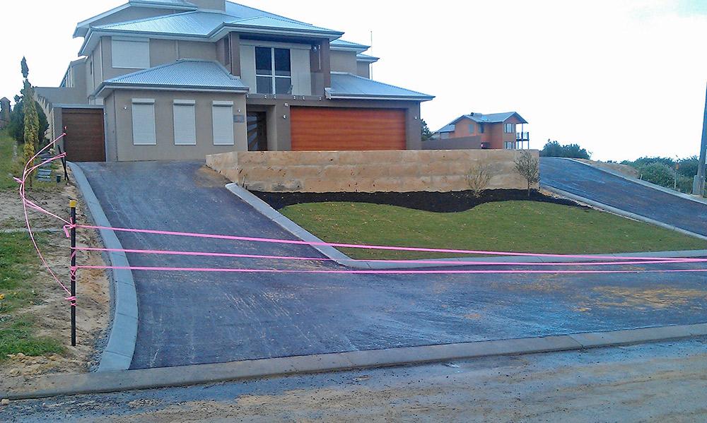 Yanchep driveway