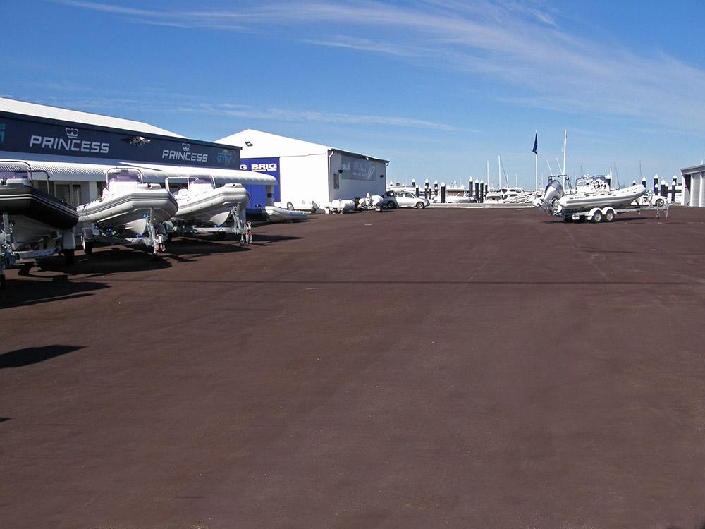 Fremantle marine asphalt