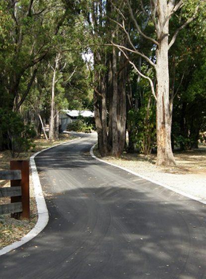 Nk asphalt bitumen driveway