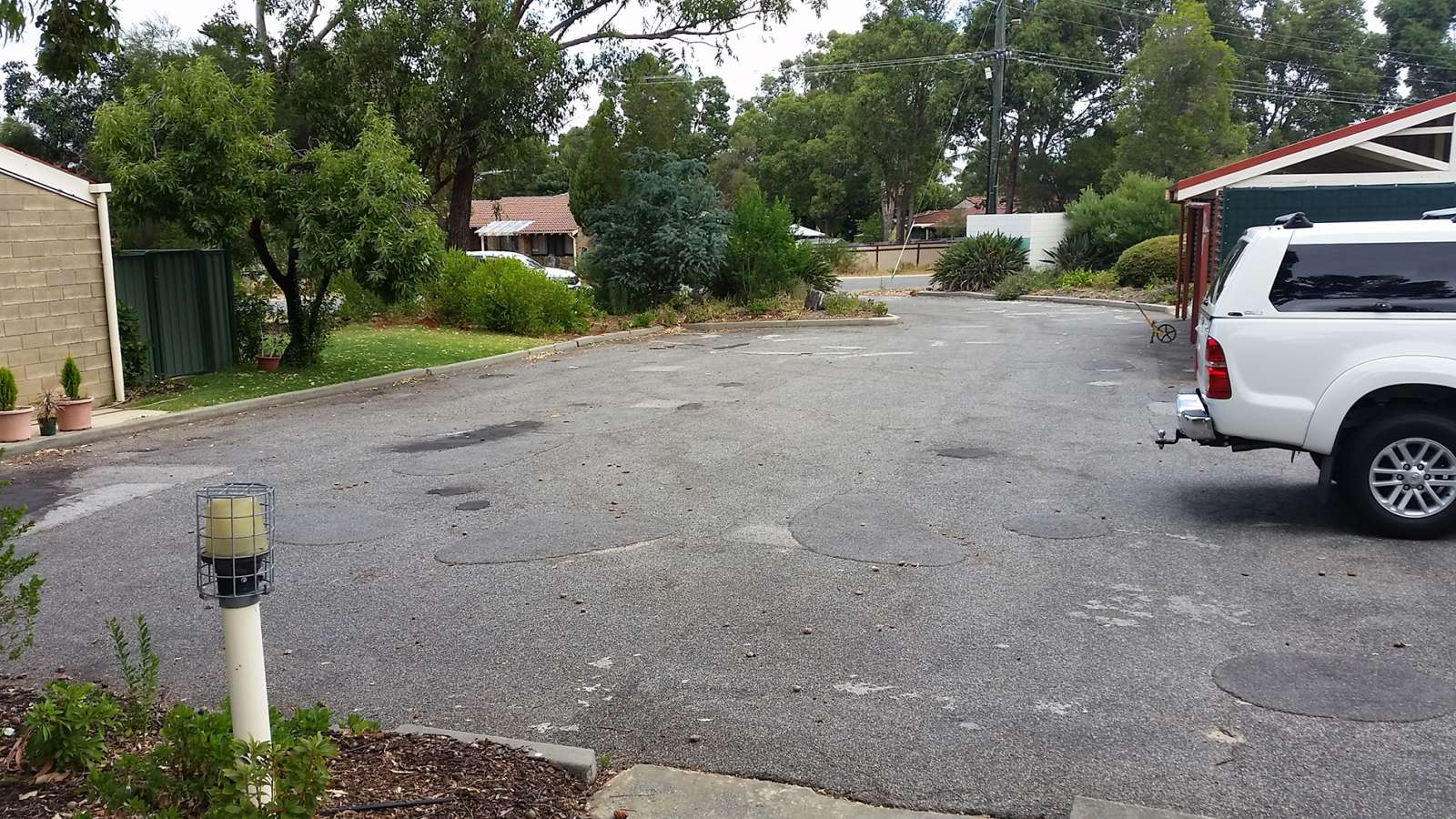 New Commercial Driveway in Darlington   NK Asphalt