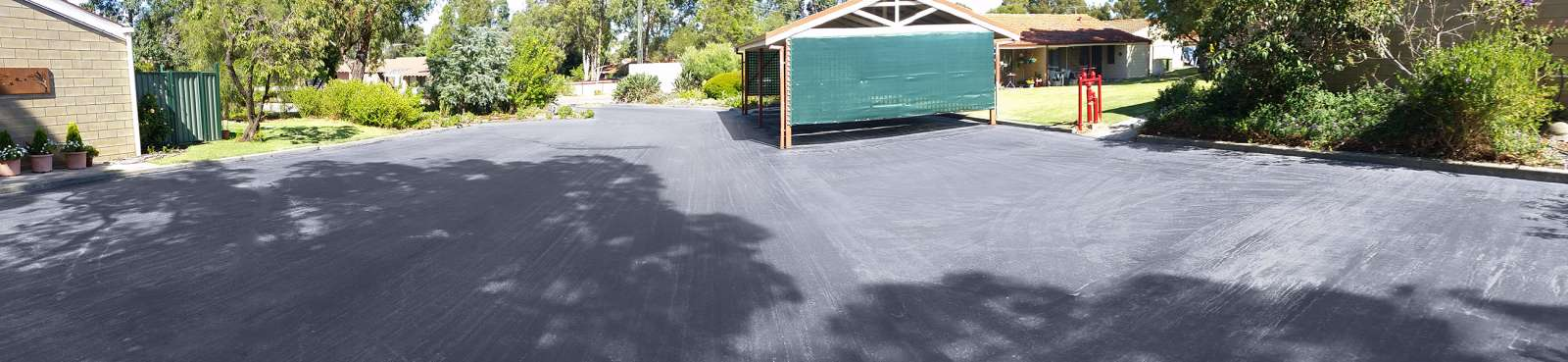 New Commercial Driveway in Darlington | NK Asphalt