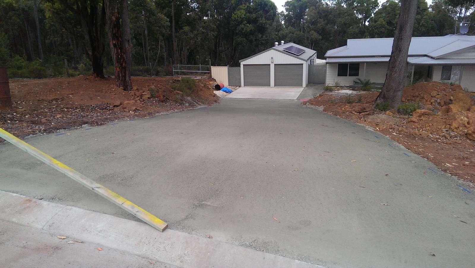 New Residential Driveway in Bedfordale