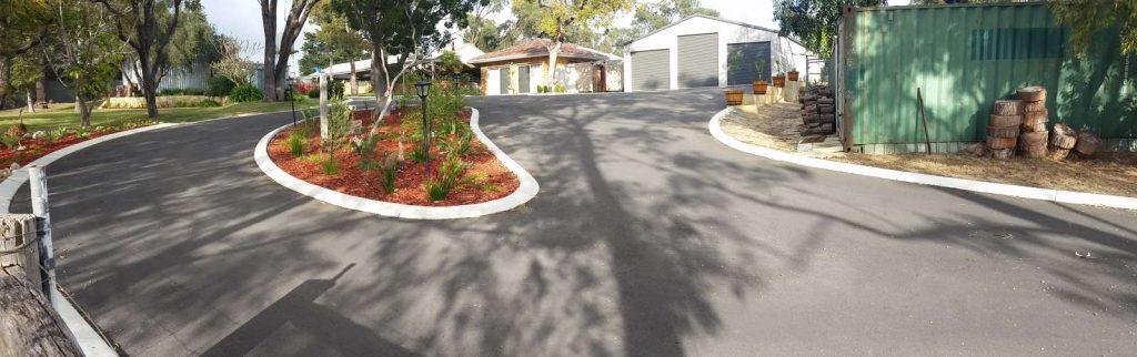 asphalt driveway resurfacing after picture