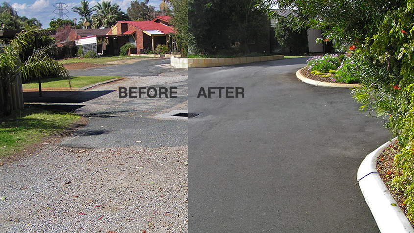 Nk Asphalt before and after