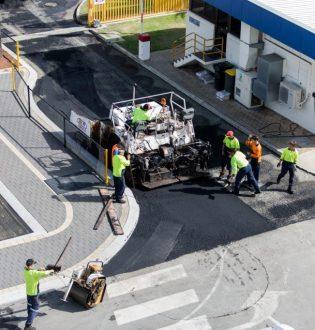 Nk asphalt car park resurfacing