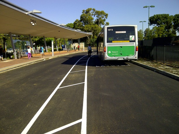 Nk asphalt transperth bus station resurface