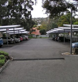 Car park for strata units in Scarborough