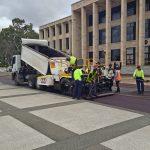 parliament house Nk asphalt compact road roller