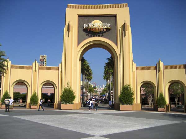 Universal studios car park