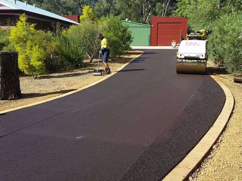 install and maintain driveway